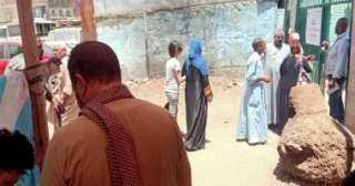 توافد الناخبين على التصويت بانتخابات النواب بالوراق وأوسيم