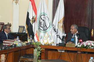 بروتوكول تعاون بين وزارة التموين والتجارة الداخلية ومجلس الوحدة الاقتصادية العربية